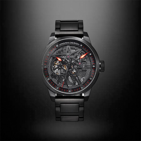 PAGANI DESIGN Men's Classic Skeleton