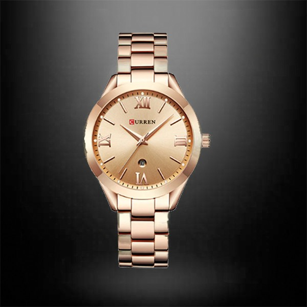 CURREN 9007 Rose Gold Watch