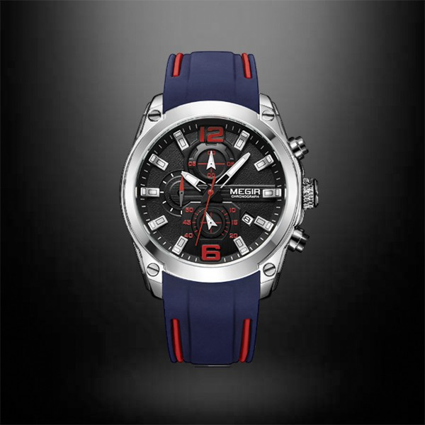Megir Watch Men Chronograph